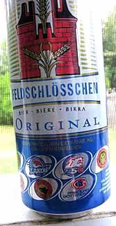 Picture of Feldschlosschen Beer - Front