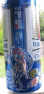 Picture of Feldschlosschen Beer - side