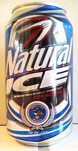 Natural Ice Beer Can