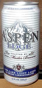 Picture of Aspen Edge Low Carb Light Lager
