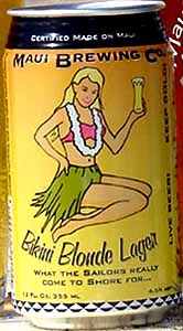 Picture of Bikini Blonde Lager