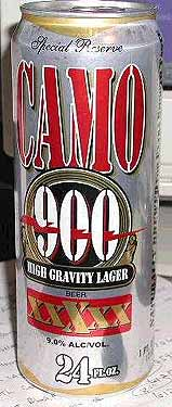 Picture of Camo 900 High Gravity Lager