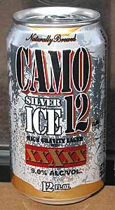 Picture of Camo Silver Ice High Gravity Lager