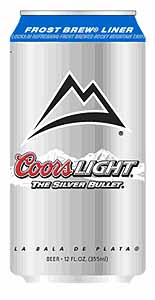 Picture of Coors Light - Back