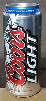 Picture of Coors Light - Front