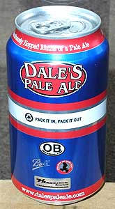 Picture of Dale's Pale Ale - Back