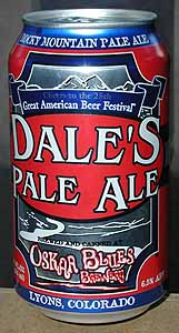 Picture of Dale's Pale Ale - Front