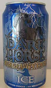 Picture of Dark Horse High Gravity Lager Ice