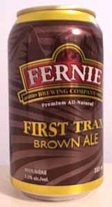 Picture of The First Trax Brown Ale