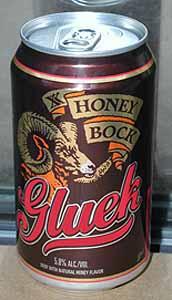 Picture of Gluek Honey Bock - Front