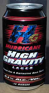 Picture of Hurricane High Gravity Lager