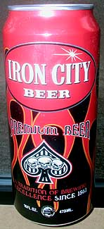 Picture of Iron City Beer - Front