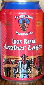 Picture of James Page Iron Range Amber Lager