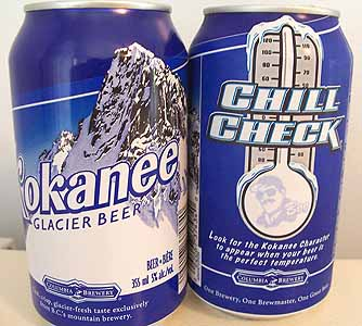 Picture of Kokanee Glacier Beer