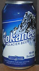 Picture of Kokanee Glacier Beer - Front