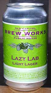 Picture of Lazy Lab Light Lager