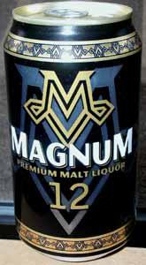 Picture of Magnum Malt Liquor - Front