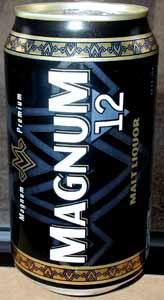 Picture of Magnum Malt Liquor - Back