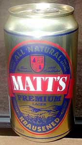 Picture of Matt's Premium Lager
