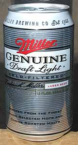 Picture of Miller Genuine Draft Light