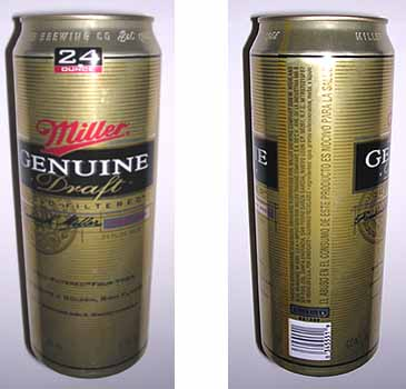 Picture of Miller Genuine Draft