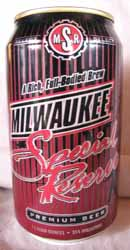 Picture of Milwaukee Special Reserve Premium Beer