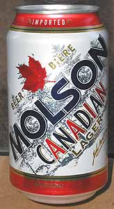 Picture of Molson Beer - Front