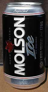 Picture of Molson Ice - Back
