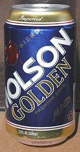 Picture of Molson Golden - Front