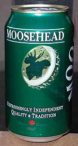 Picture of Moosehead Lager - Back