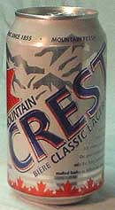 Picture of Mountain Crest Classic Lager