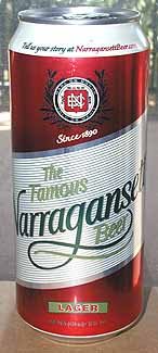 Picture of Narragansett Beer - Front