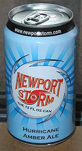 Picture of Newport Storm Hurricane Amber Ale