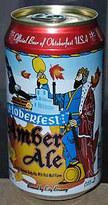 Picture of Oktoberfest Amber Ale - Front