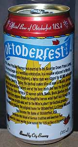 Picture of Oktoberfest Amber Ale - Back