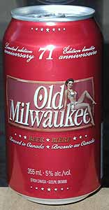 Picture of Old Milwaukee Beer - Front