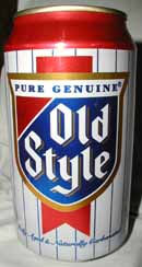 Picture of Old Style Beer - front
