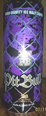 Picture of Pit Bull Malt Liquor