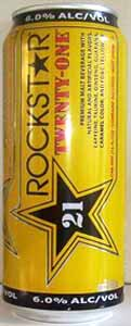 Picture of Rock Star 21 Malt Beverage