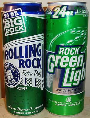 Picture of Rolling Rock & Rock Green Light