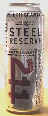Picture of Steel Reserve High Gravity Lager