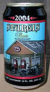 Picture of Sturgis Beer - Back