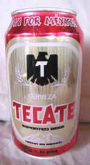 Picture of Tecate Beer - front