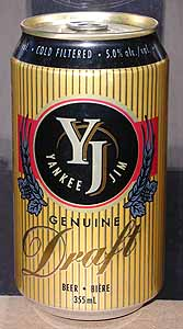 Picture of Yankee Jim Genuine Draft