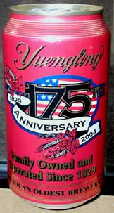 Picture of Yuengling Light Lager - Back