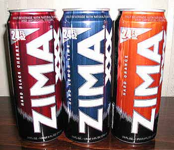 Picture of Zima Malt Beverage - 3 New Flavors