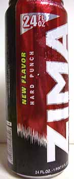 Picture of Zima Hard Punch